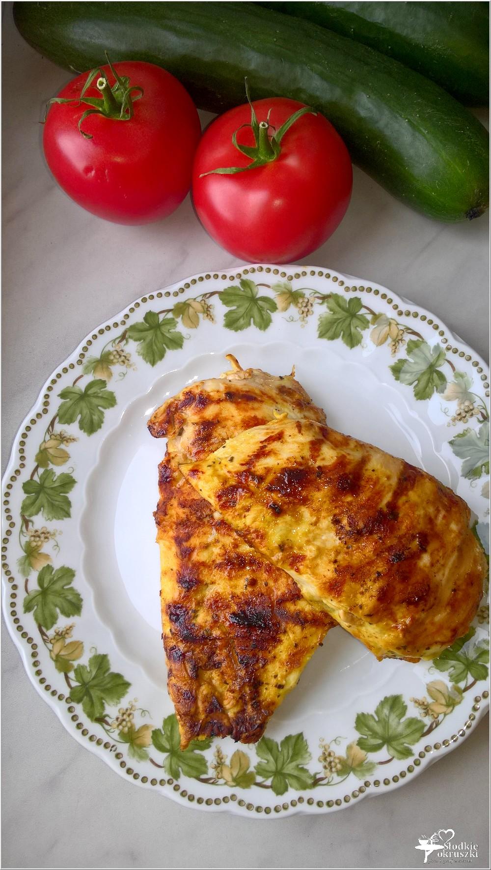 Piersi z kurczaka grillowane w musztardowej marynacie (2)