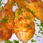 Chrupiący pikantny kurczak (z rosołu)