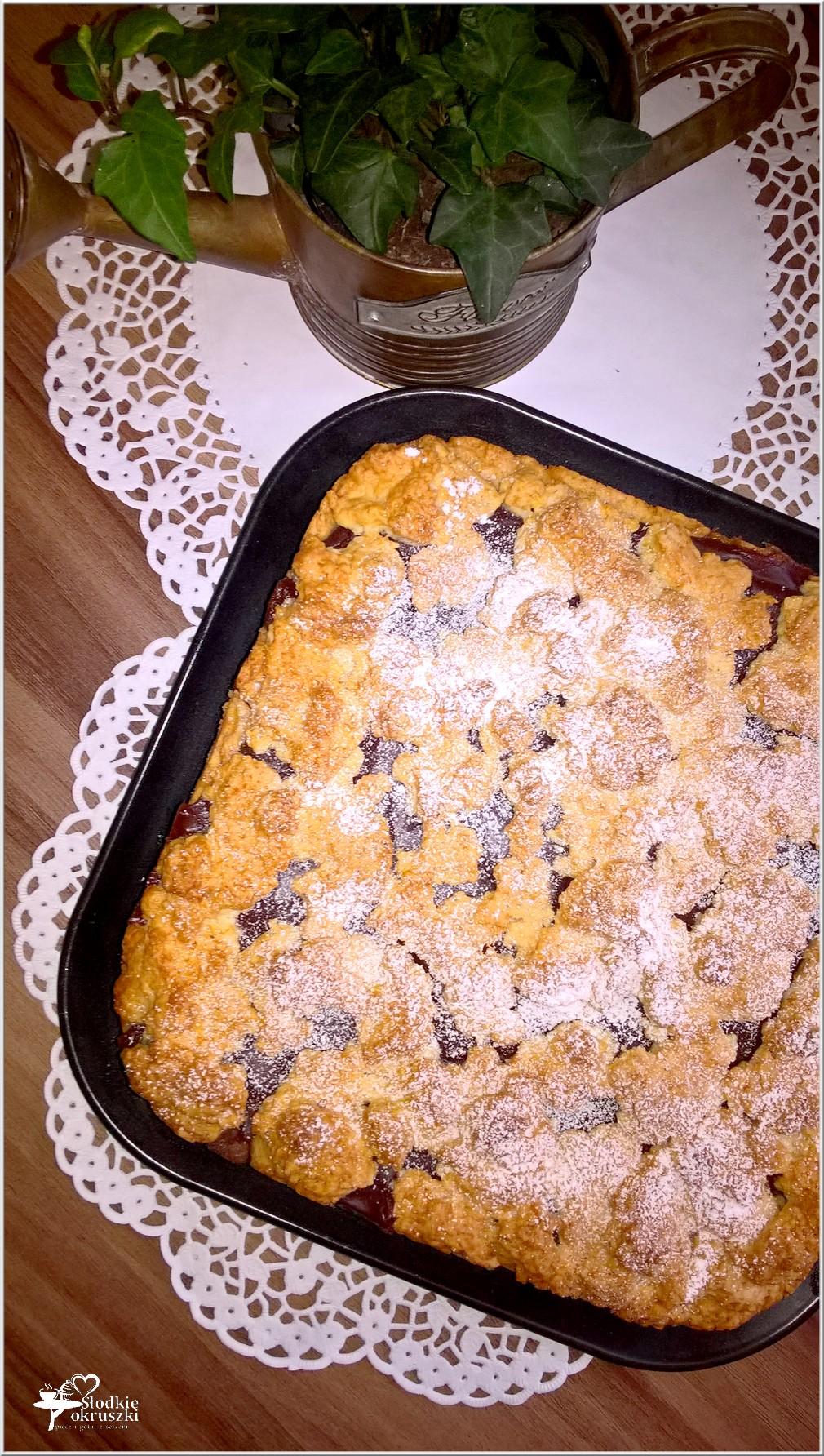 Kruche ciasto z czekoladowym wnętrzem (1)
