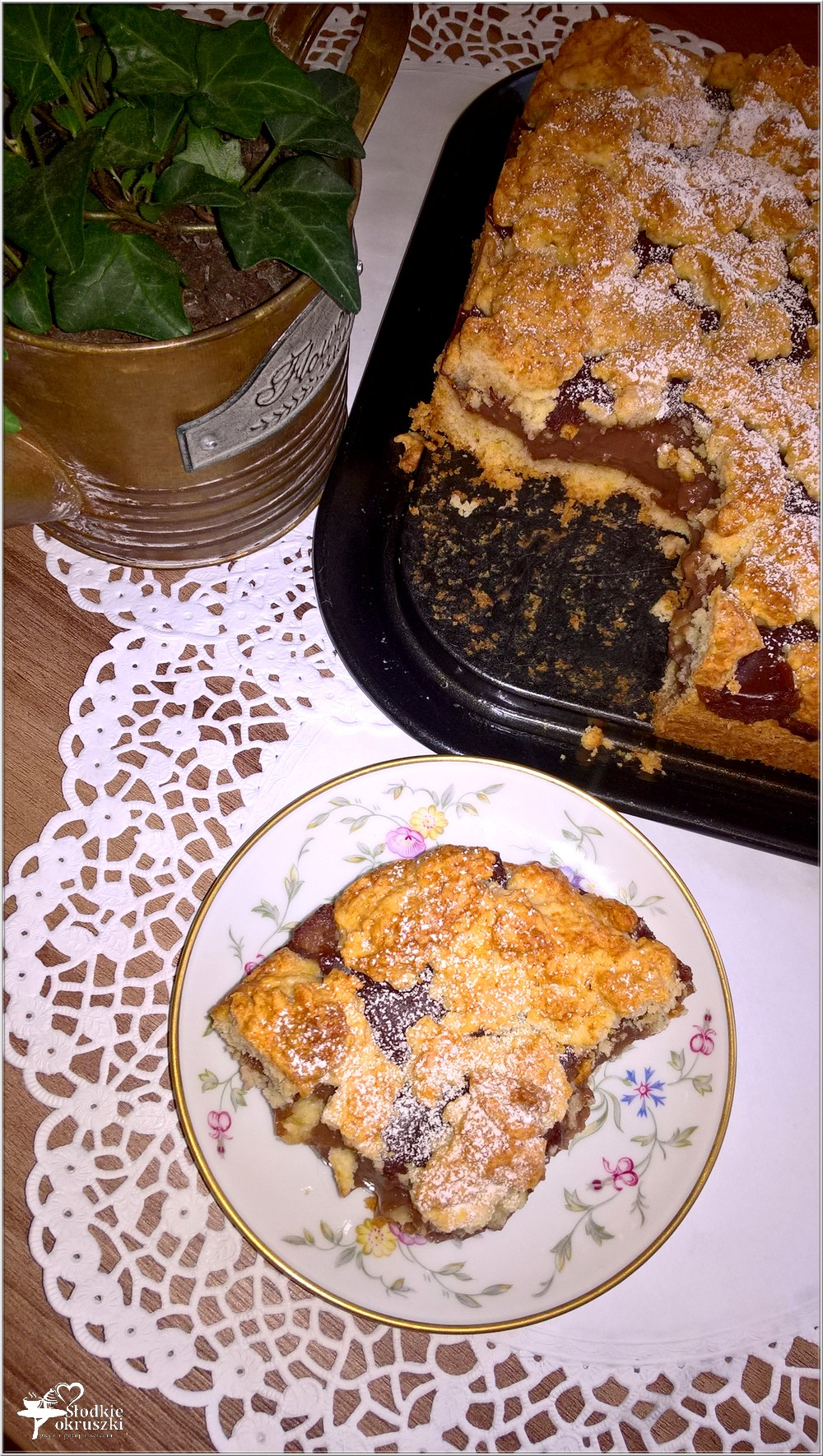 Kruche ciasto z czekoladowym wnętrzem (2)