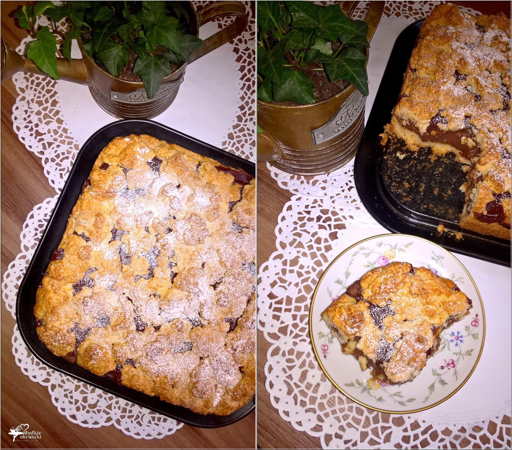 Kruche z czekoladowym wnętrzem (ciasto)