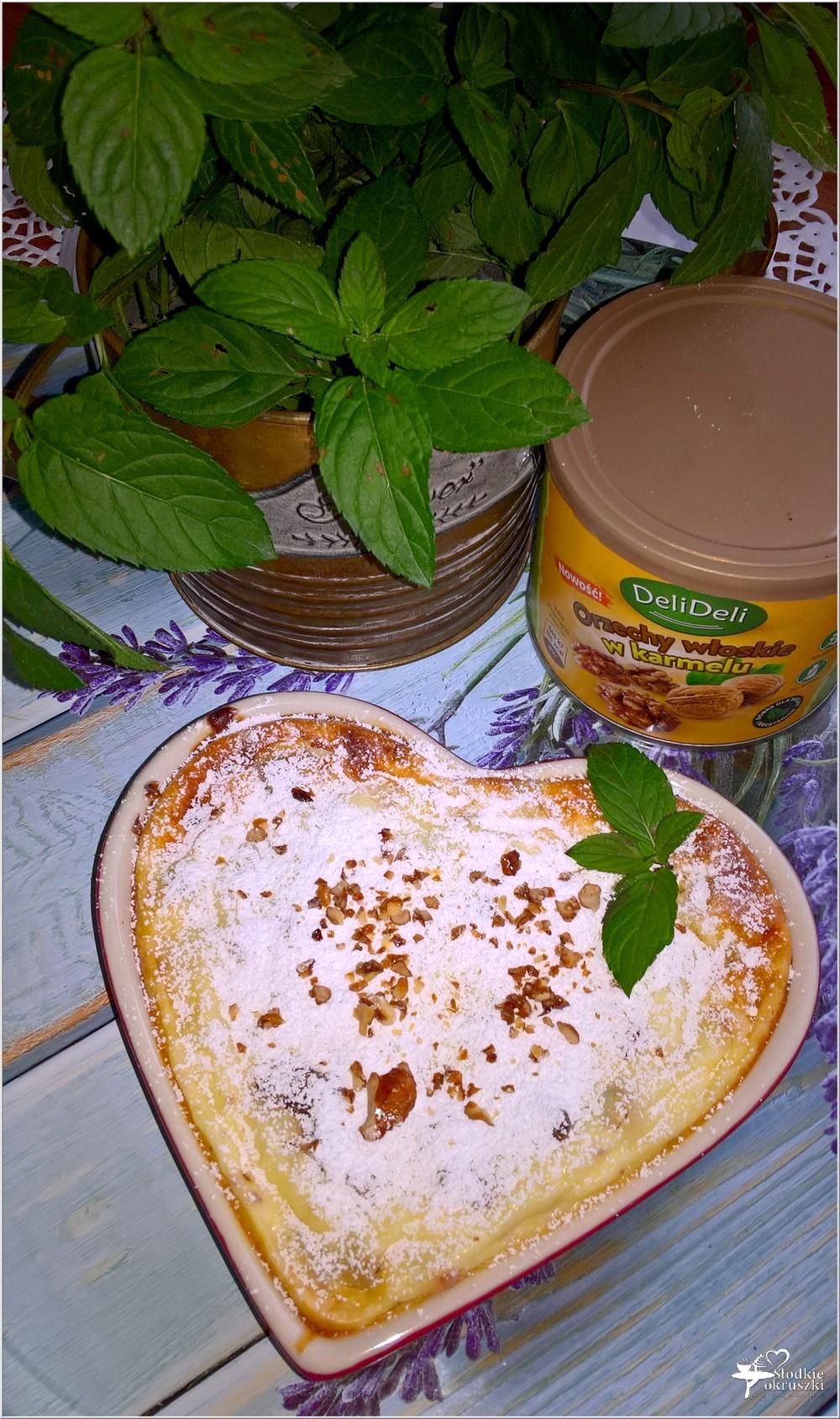 Pieczony serniczek z orzechami włoskimi i kandyzowaną skórką (4)