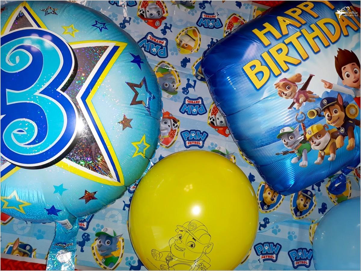 3-cie urodziny mojego synka