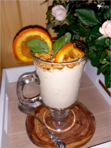 Kremowy deser kokosowo sernikowy (z żurawiną i pomarańczą) (1)