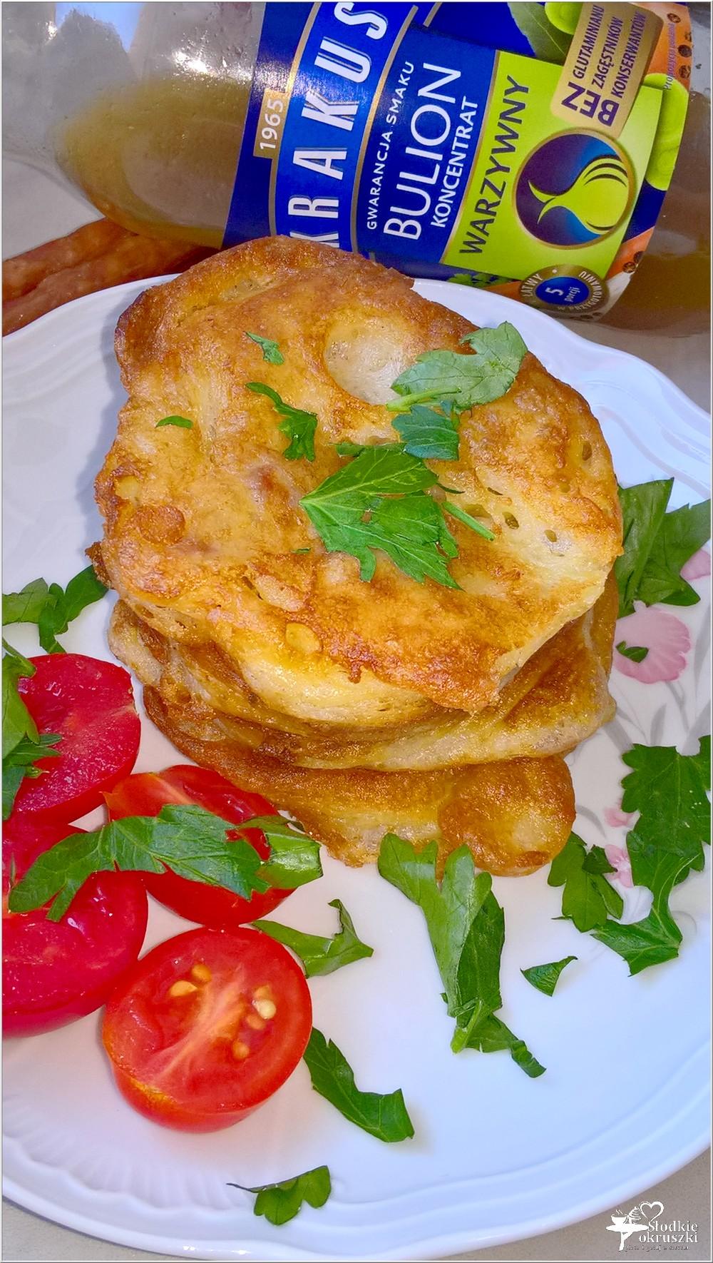 Placuszki z kabanosem (na śniadanie lub szybki obiad) (3)