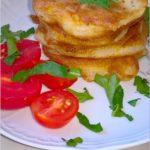 Placuszki z kabanosem (na śniadanie lub szybki obiad)