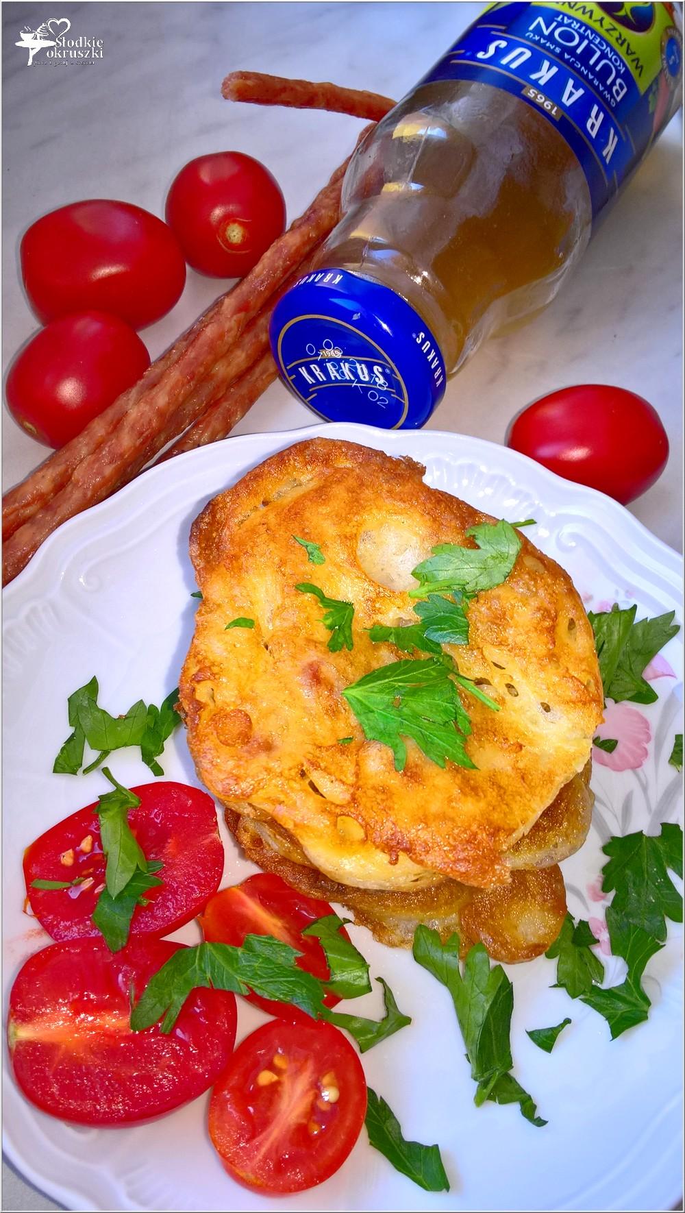 Placuszki z kabanosem (na śniadanie lub szybki obiad) (5)