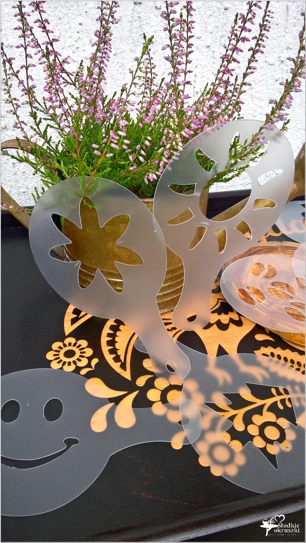 Szablony do dekoracji kawy i deserów (1)