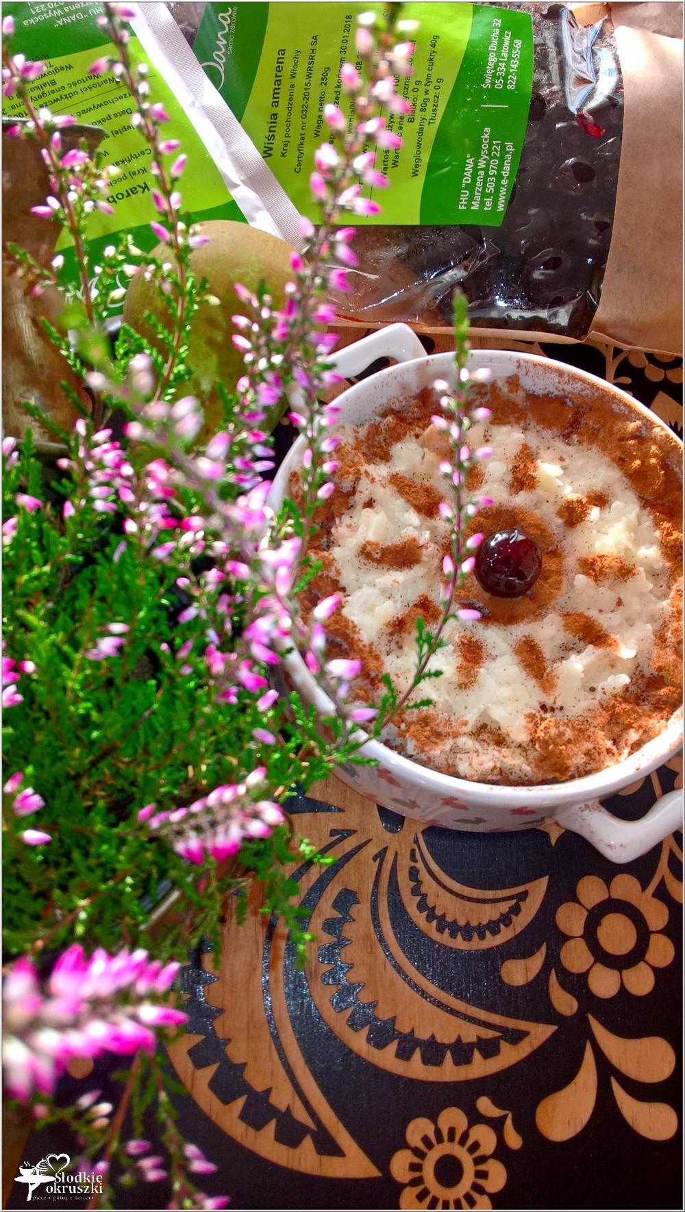 Zapiekany pudding ryżowy z gruszką i cynamonem (6)