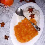 Aromatyczny kokosowy ryż z cynamonowym jabłuszkiem