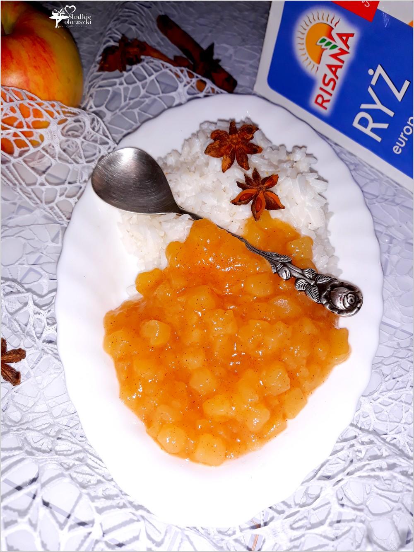 Aromatyczny kokosowy ryż z cynamonowym jabłuszkiem (2)