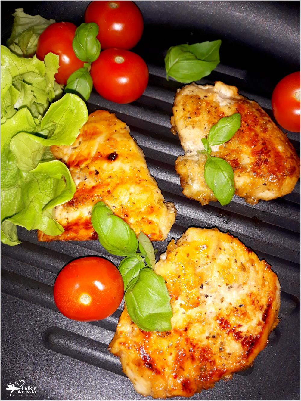 Grillowane piersi z kurczaka w miodowo-chrzanowej marynacie (1)