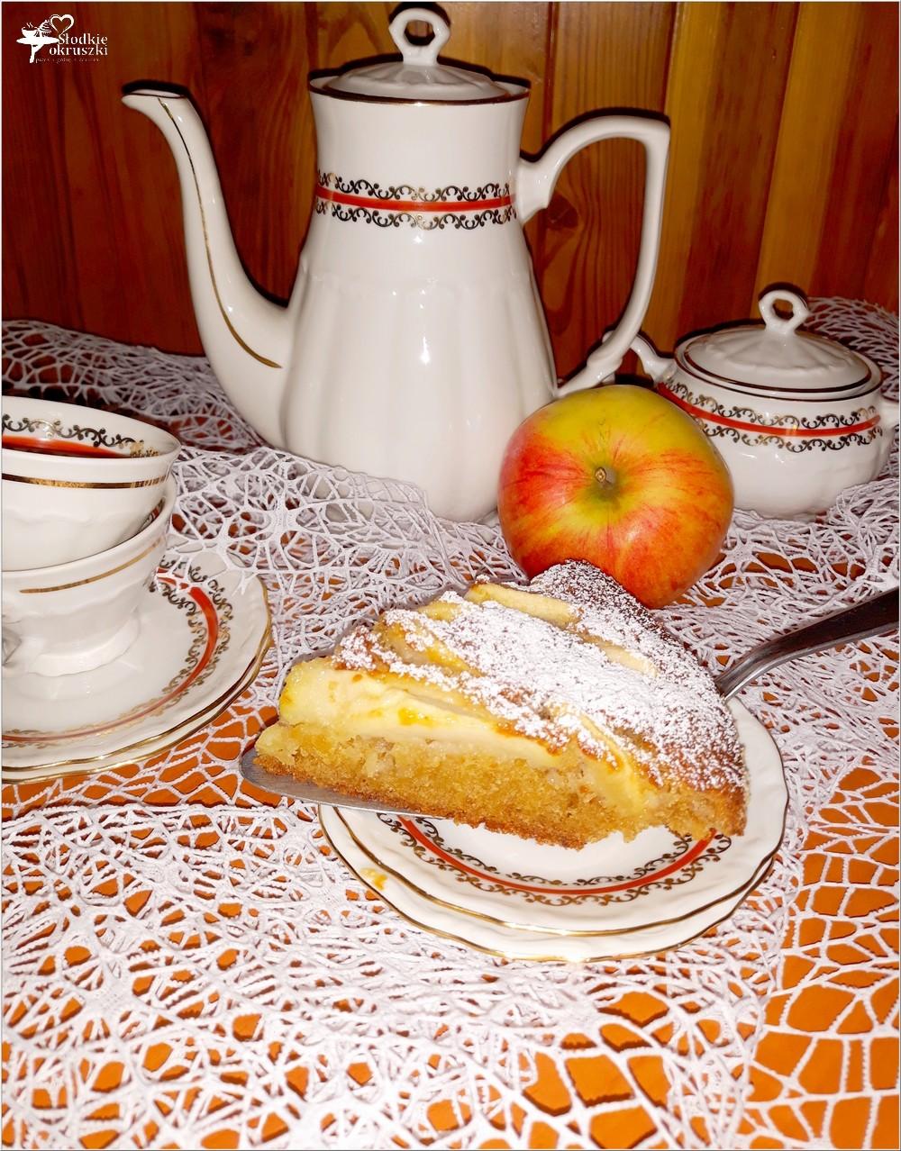 Korzenno miodowe ciasto jabłkowe (5)