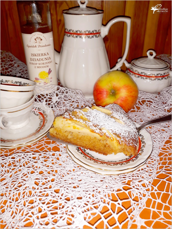 Korzenno miodowe ciasto jabłkowe (8)