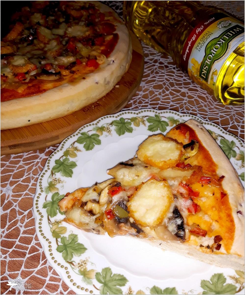 Pizza z nuggetsami na grubym cebulowym cieście (2)