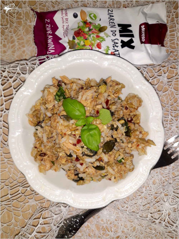 Szybka sałatka z ryżem i mixem ziaren (2)