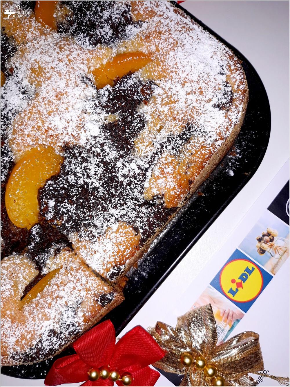 Ciasto z brzoskwiniami i masą makową (3)