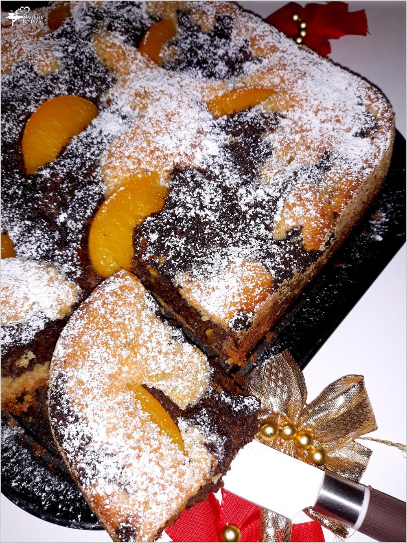 Ciasto z brzoskwiniami i masą makową (5)