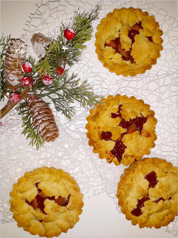 Imprezowe mini tarty z kajmakiem i solonymi migdałami (2)