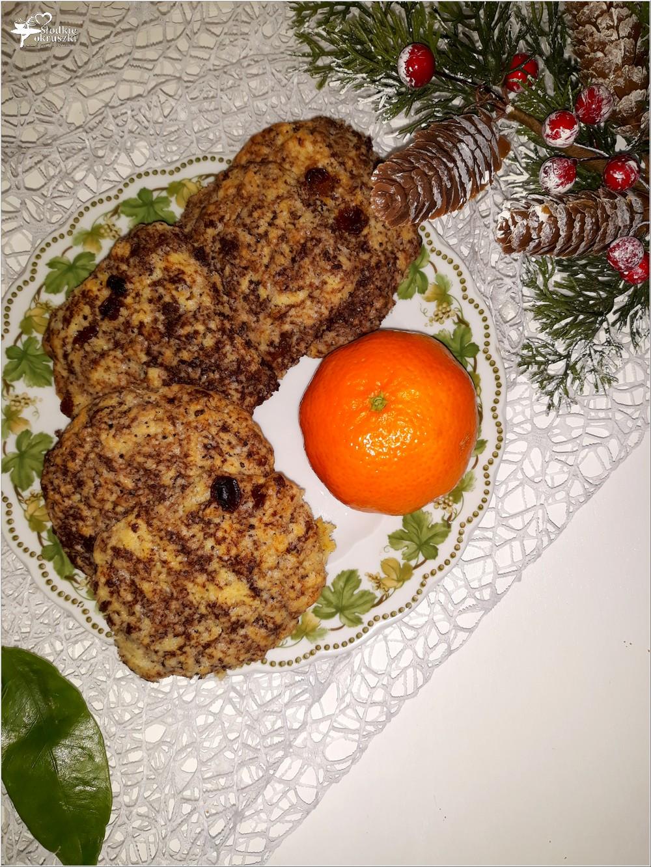 Kokosowo-czekoladowe ciasteczka z rodzynkami (1)