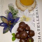 Korzenne kuleczki w mlecznej czekoladzie