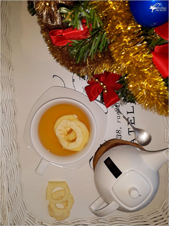 Rozgrzewająca herbata z imbirem i suszonymi jabłkami (3)