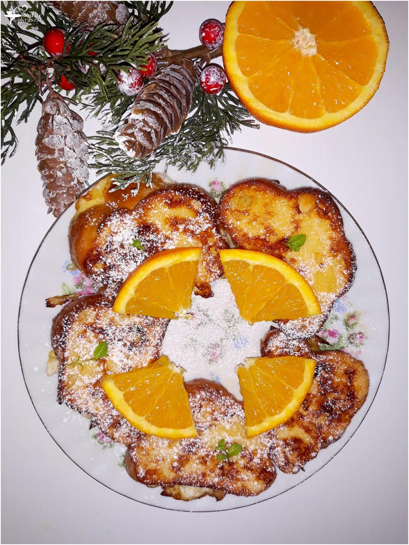 Waniliowa chałka z pomarańczą we francuskim stylu (1)