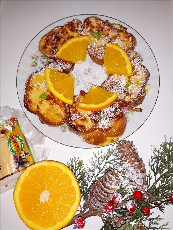 Waniliowa chałka z pomarańczą we francuskim stylu (2)