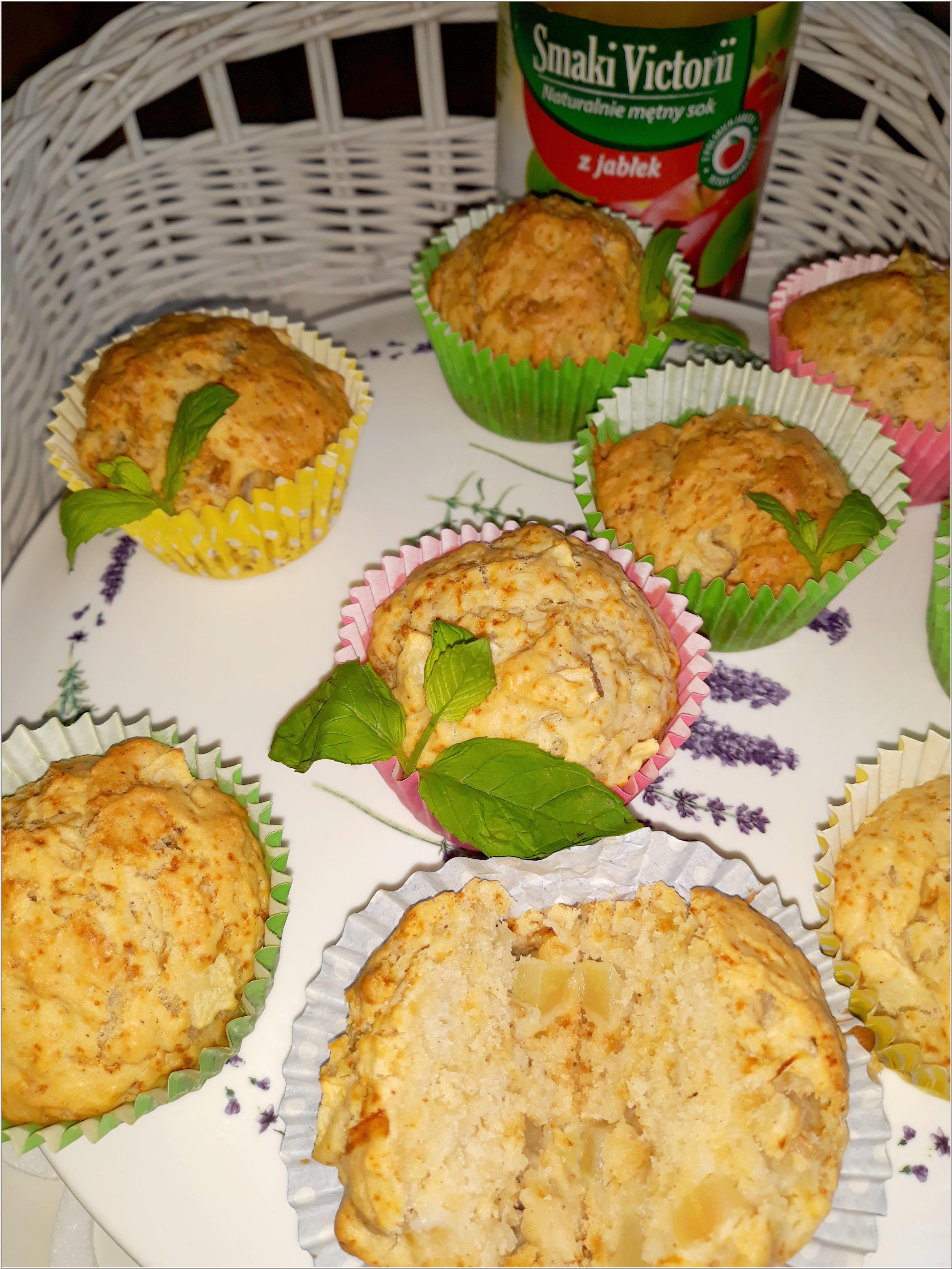 Aromatyczne babeczki na soku jabłkowym (w lżejszej bezmlecznej wersji) (2)