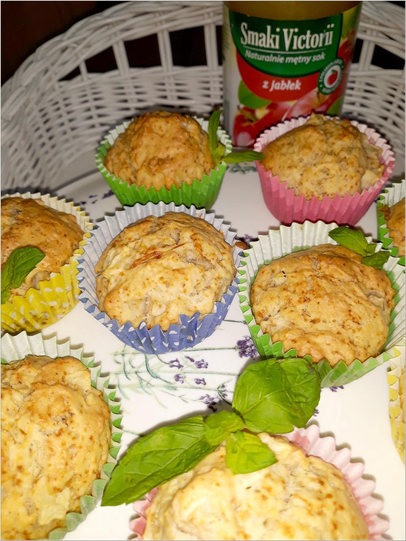 Aromatyczne babeczki na soku jabłkowym (w lżejszej bezmlecznej wersji) (3)