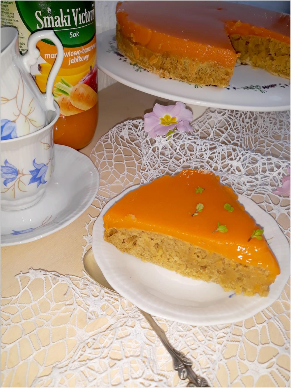 Ciasto marchewkowo-jabłkowe z kremem marchewkowym (2)
