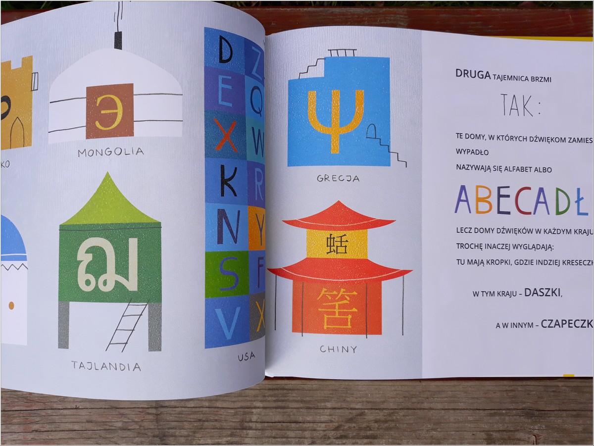 Książka dla dzieci. Cztery sekrety poznania liter i nut. Wyd. TADAM (4)