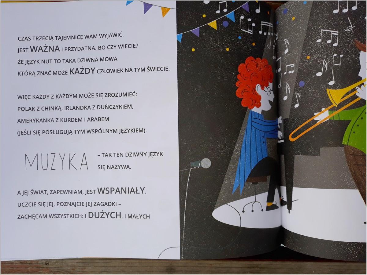 Książka dla dzieci. Cztery sekrety poznania liter i nut. Wyd. TADAM (5)