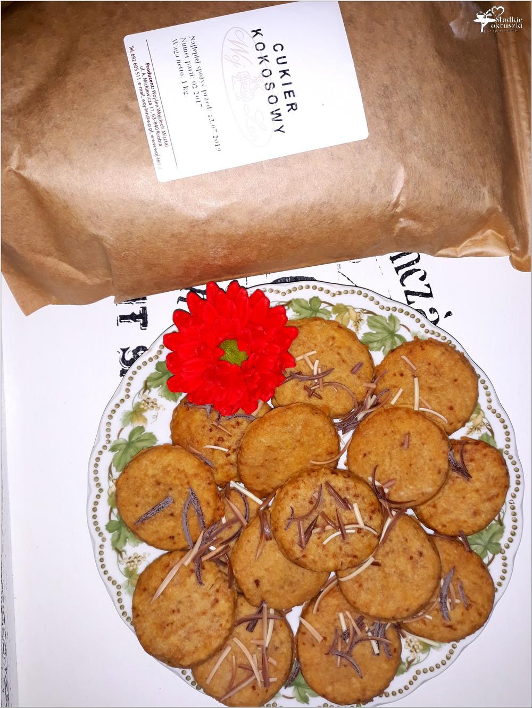 Szybkie ciasteczka z cukrem kokosowym (2)