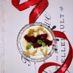 Zdrowy matcha deser z chia