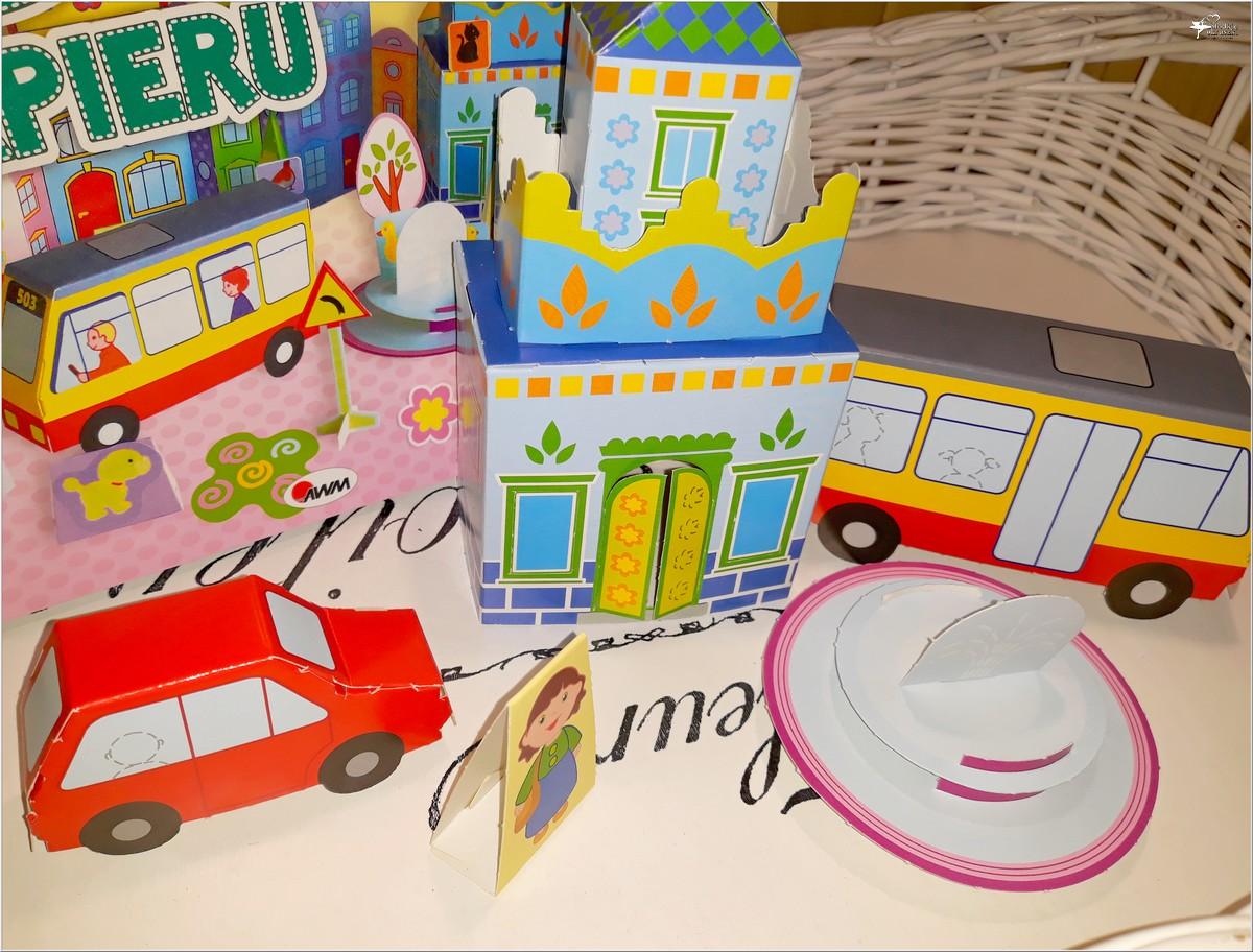 Buduj z papieru miasteczko. Wspaniała zabawa bez kleju i nożyczek (2)