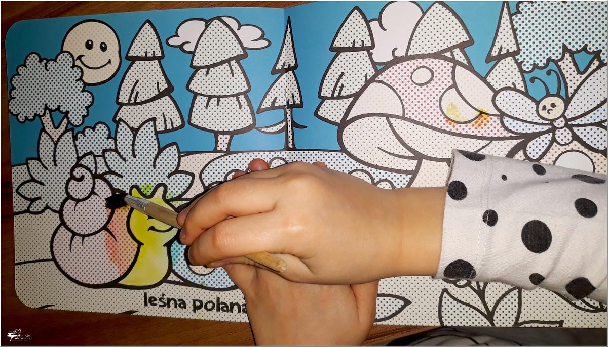 Maluj wodą! Seria dla dzieci. Wyd. AWM (3)