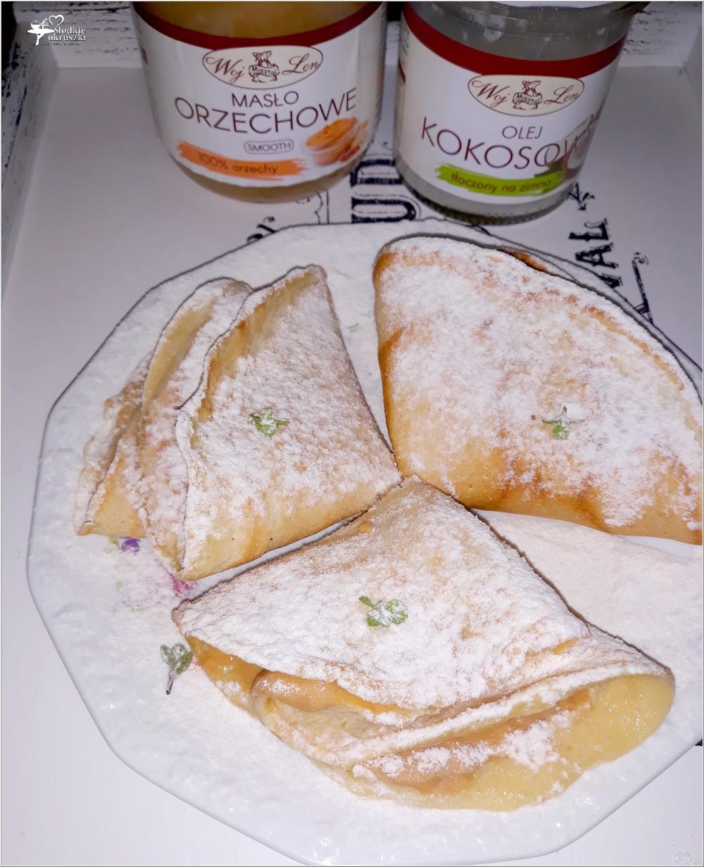 Naleśniki z masłem orzechowym (2)
