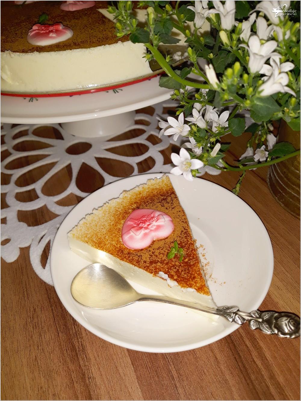 Walentynkowy sernik pinacolada (1)