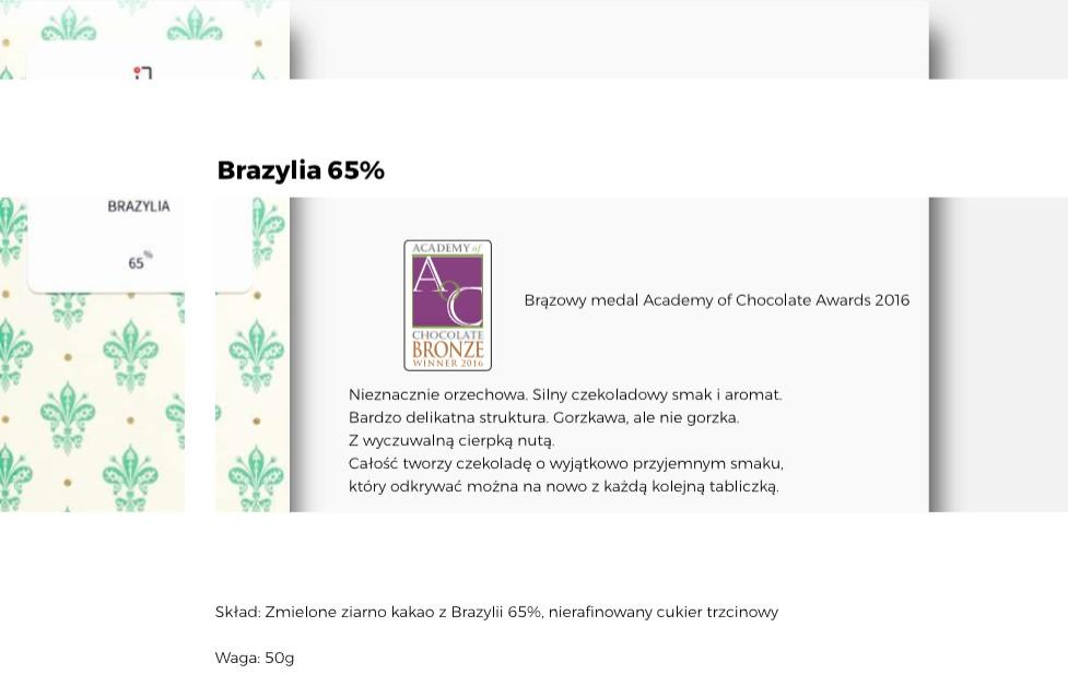 Czekolada Brazylia