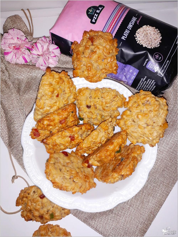 Owsiane ciasteczka z kandyzowaną skórką (1)