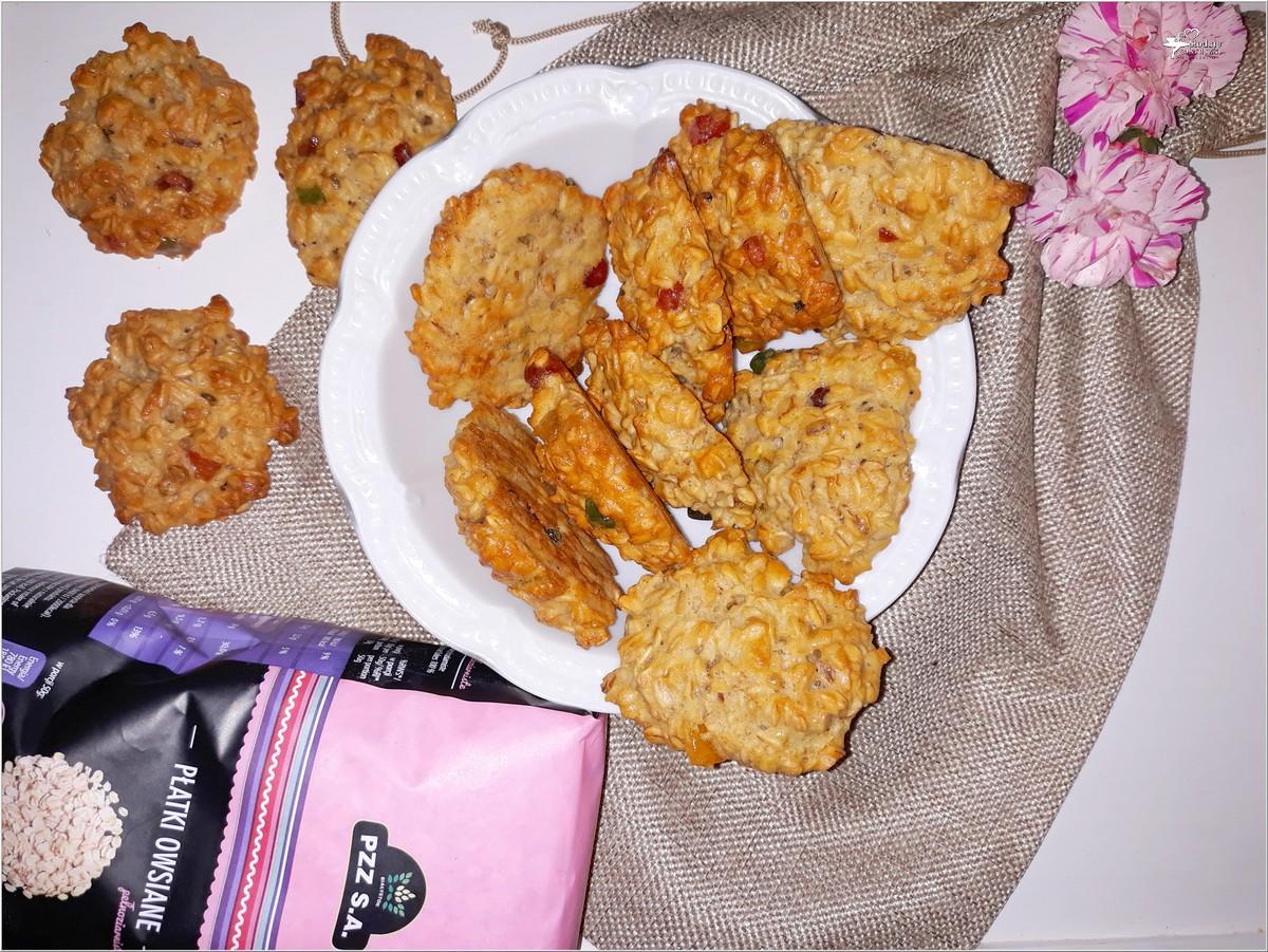 Owsiane ciasteczka z kandyzowaną skórką (4)
