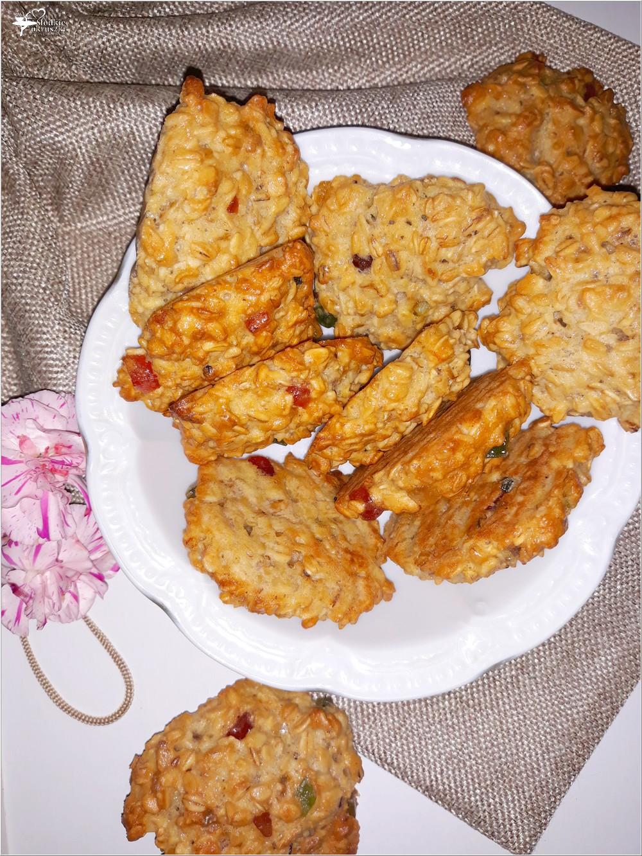 Owsiane ciasteczka z kandyzowaną skórką (6)
