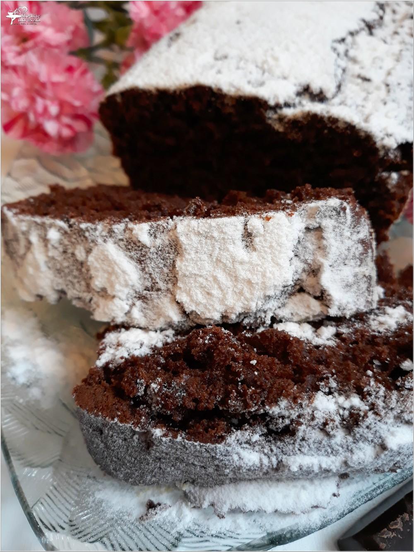 Prawdziwie czekoladowa babka (2)