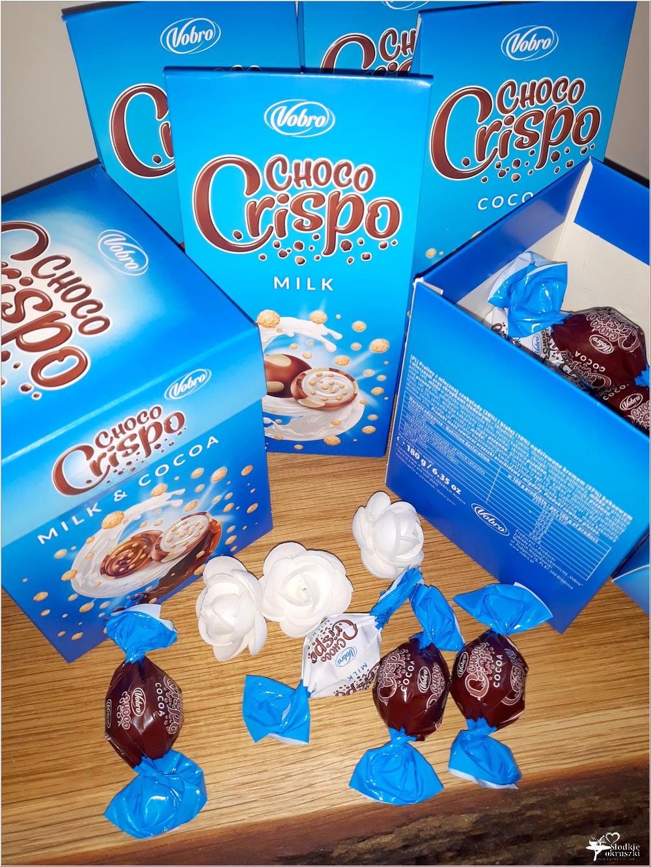 Słodki świat Vobro. Czekoladowe praliny Choco Crispo (2)