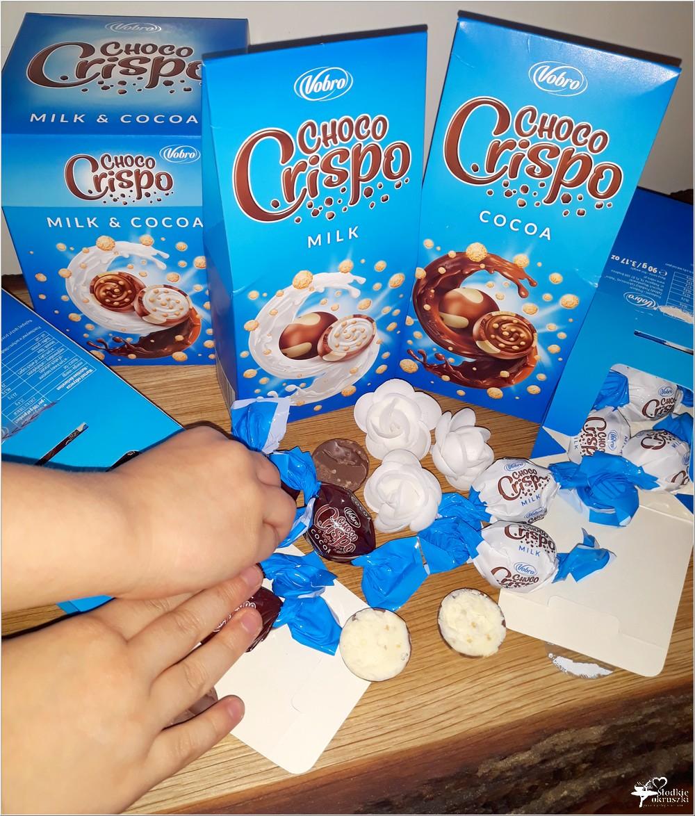 Słodki świat Vobro. Czekoladowe praliny Choco Crispo (6)