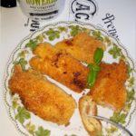 Tostowe krokieciki z serem i kiełbasą krakowską