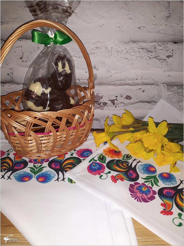 Wiosenne serwetki z ręcznym nadrukiem w stylu folk i kilka słów o wyrobach TEHORE (1)