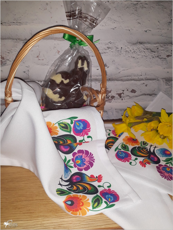 Wiosenne serwetki z ręcznym nadrukiem w stylu folk i kilka słów o wyrobach TEHORE (4)