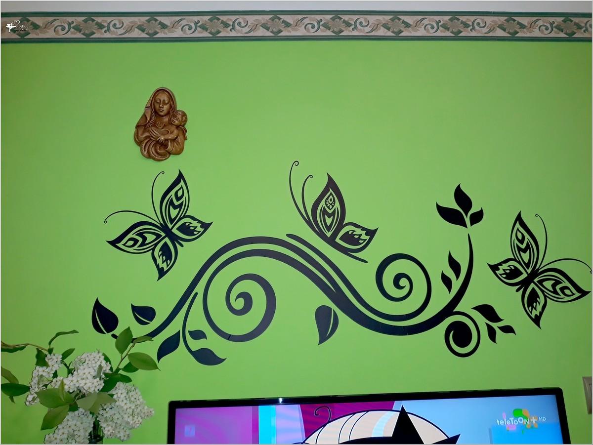 Jak odmienić wnętrze - naklejki dekoracyjne bimago